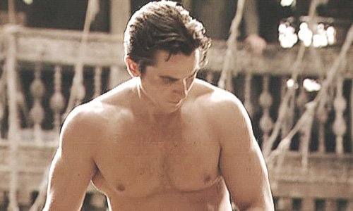 Christian bale shirtless join
