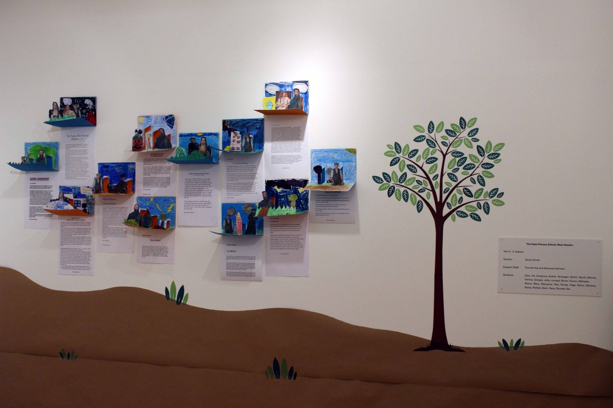 "the #GreatArtQuest transformed the ""landscape"" of our museum"