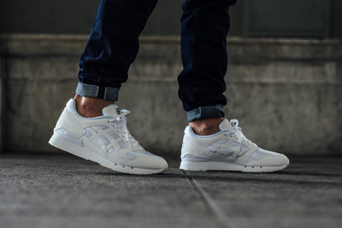 Asics Gel Atlanis White Trainers
