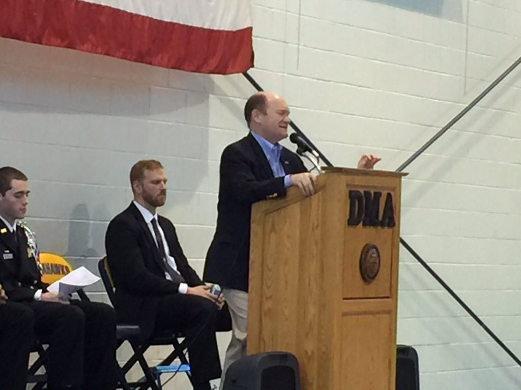 Thank you to DMA for the opportunity to speak w/ the 90+ students at today's Model UN competition. #NetDE #modelUN