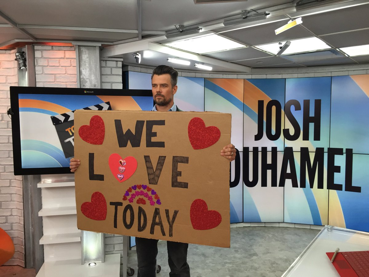 We love @joshduhamel! https://t.co/s2qjoMOgYu