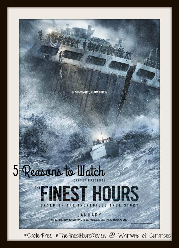 The Finest Hours Spoiler Free Movie Review