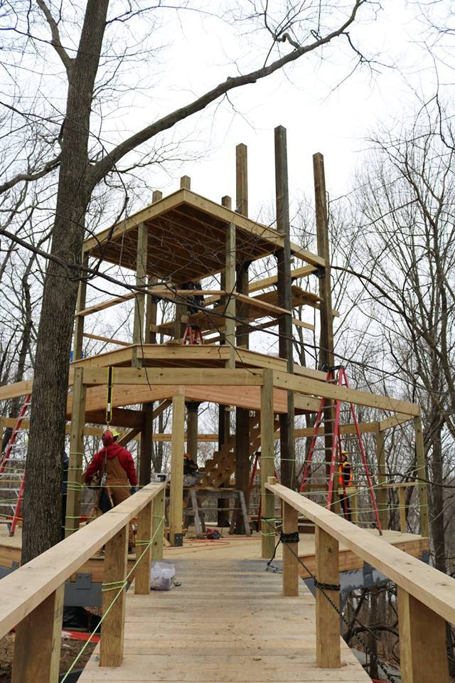 ICYMI, we're building a treehouse! Treetop Outpost opens in July & will be four stories tall https://t.co/CPQAaShu08 https://t.co/DvoXwiaBd3