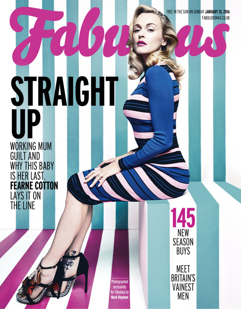 Out this weekend! @Fabulousmag 😘 https://t.co/1kChBWeYEc