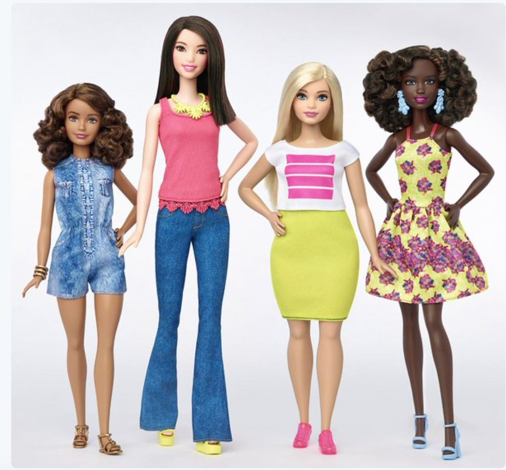 Yes to these new @Barbie dolls! Haven't had one in years (quite the collector as a kid); I can't wait to order one! https://t.co/tGrpt6QrjB