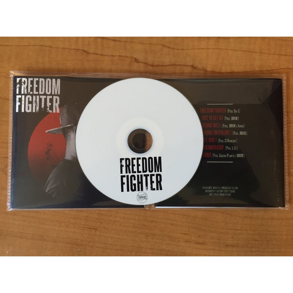 "The ""Freedom Fighter"" EP is now available. Stream it on my Soundcloud. Link is in my bio  #FreedomFighter https://t.co/ejblNC5ksq"