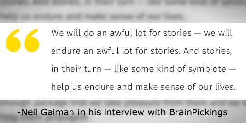 Check out this great interview @neilhimself did with @brainpicker on how stories last!  https://t.co/VLnj864BM7 https://t.co/BhufbtPmux