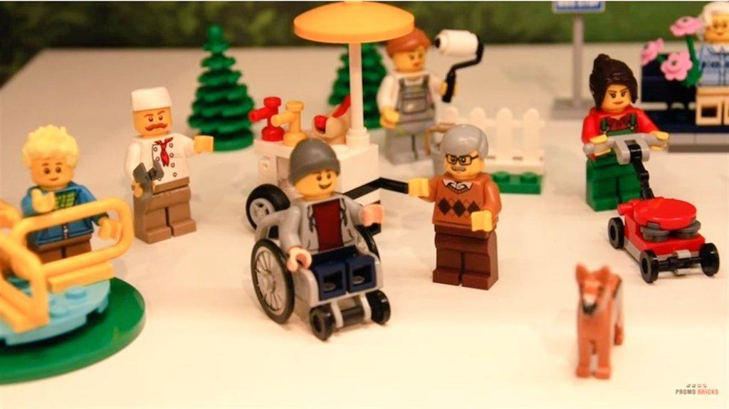 Lego apuesta por la participación de las personas con discapacidad.