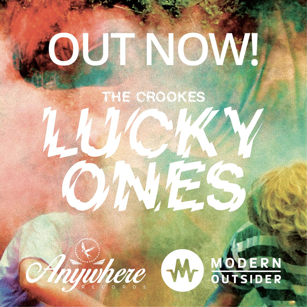 #LuckyOnes is OUT TODAY! LP/CD/Download/Stream here:  https://t.co/cf2v0WJUf1  Please RT - Spread the word! https://t.co/hcwmW9IEiE