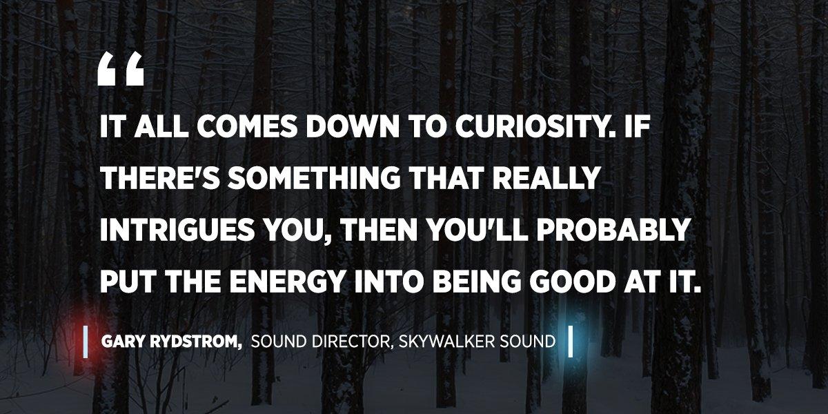 sound designer gary rydstrom