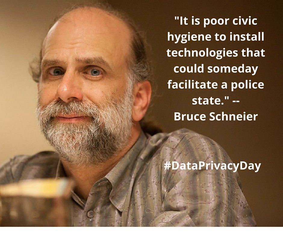 It's #DataPrivacyDay! Remember: Good data privacy is good for human rights. https://t.co/1UT8ZbCUON