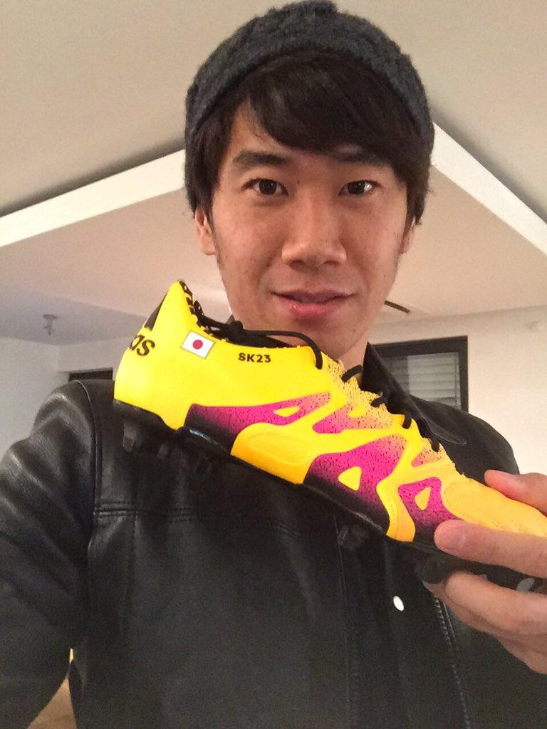 "SHINJI KAGAWA 香川真司 on Twitter ""This is new boots I m"