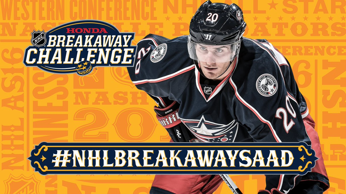 Let's. Do. This. RT to help @BSaad20 get in the Breakaway challenge. #NHLBreakawaySaad @BlueJacketsNHL #CBJ https://t.co/sxCVo35dxb