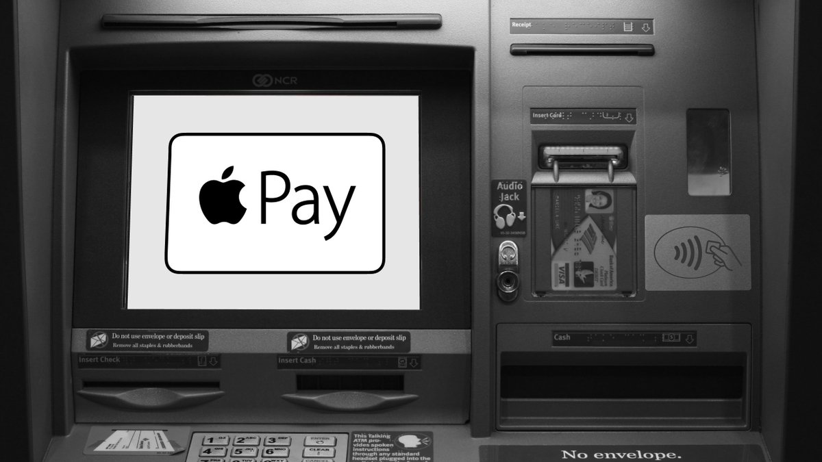 Apple Pay Is Coming To ATMs From Bank Of America And Wells Fargo by @joshconstine