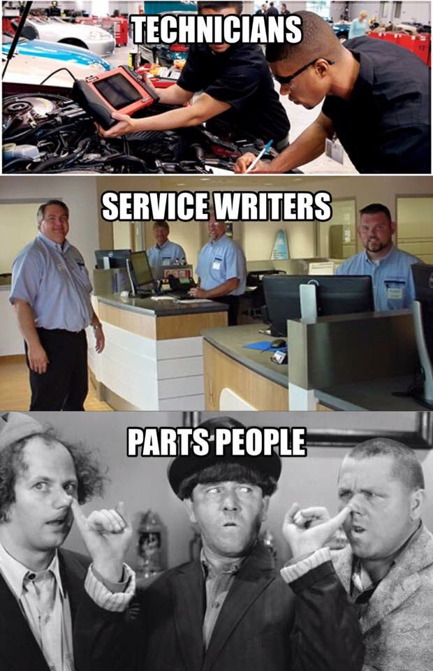 Automotive service writer advisor