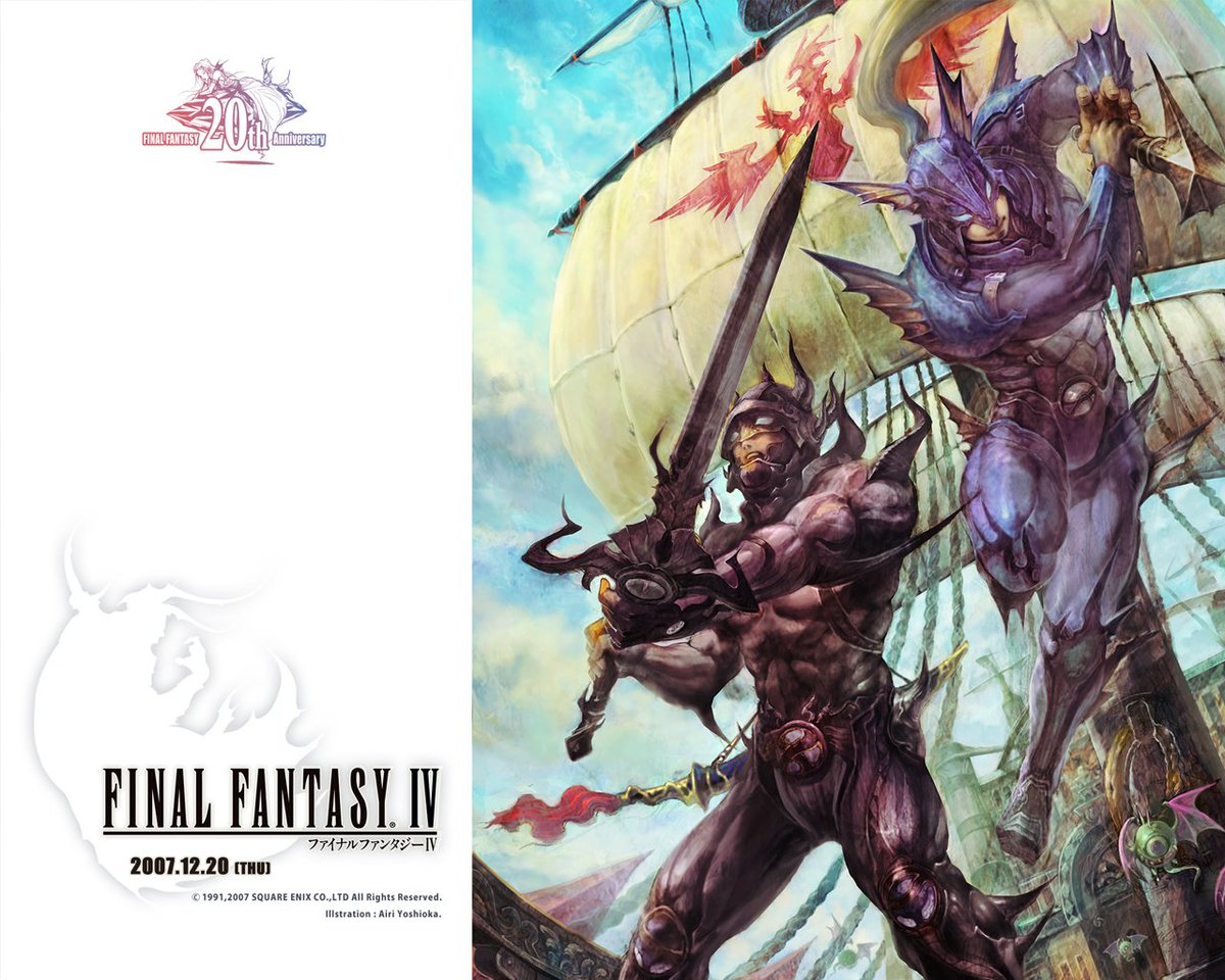 So @agentbizzle and I agree that Final Fantasy IV is a badass game. RT if you agree. #PaladinFTW https://t.co/nDvNe2l7tB