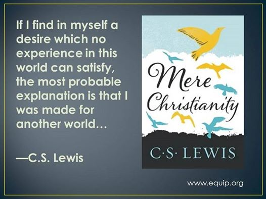 C.S. Lewis makes great sense of things! #NotOfThisWorld https://t.co/nO3xb2wpoL