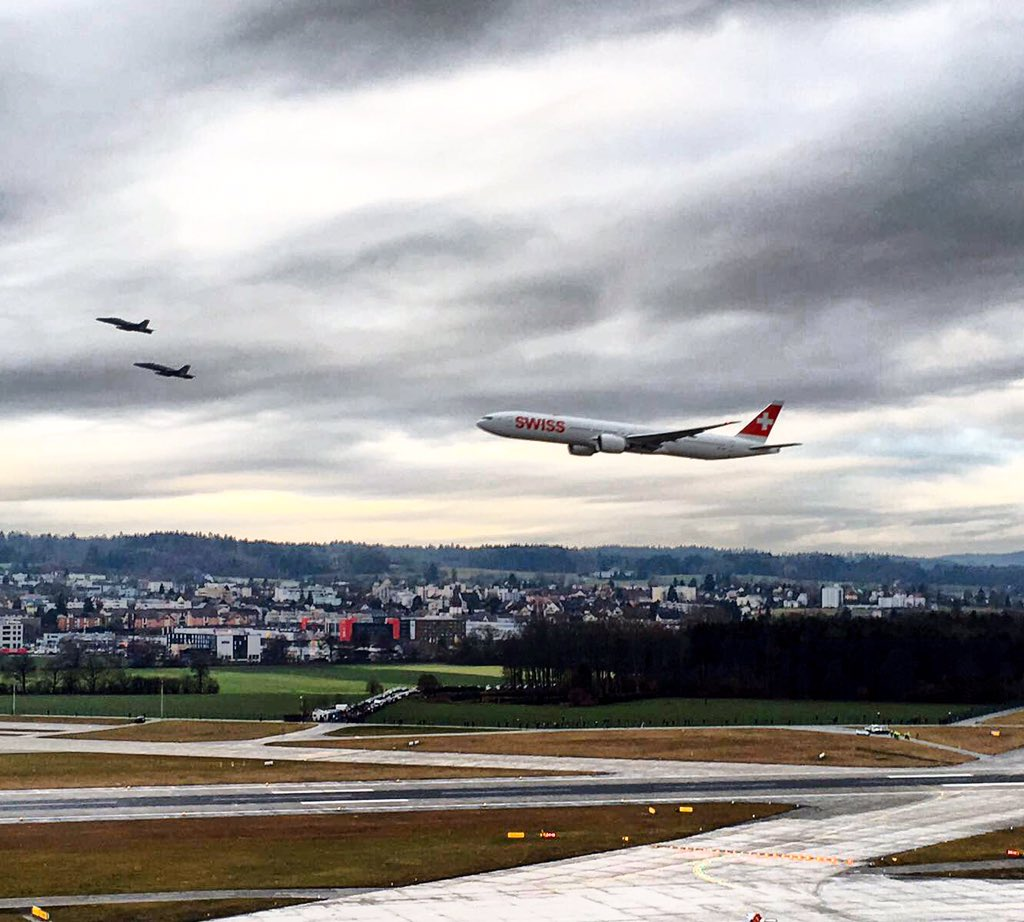 A low pass along Runway 16 – what an exciting moment. #flyswiss777 https://t.co/eFzx0mQGXT