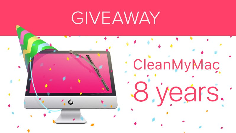 We're giving away 10x #CleanMyMac 3 licenses. Participate: Follow @MacPaw and RT.  #HappyBirthdayCleanMyMac https://t.co/FxsTM0EphD