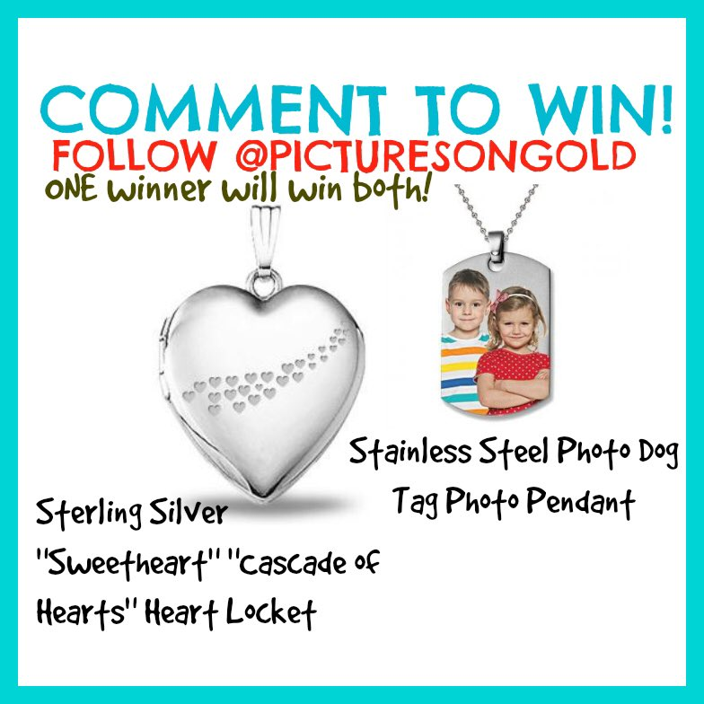 We have an exclusive #Twitter #giveaway just #RT this and follow @PicturesOnGold1 to enter! https://t.co/W4VDuzWML5