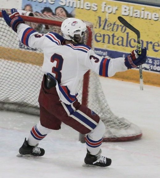 MN H.S.: Luke Turnquist Gets Two Natural Hatties And One More Goal For Good Measure!