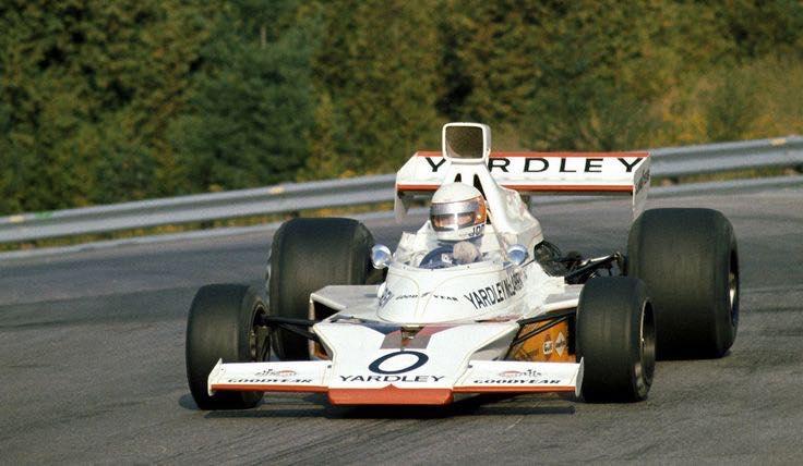 Happy Birthday ‼ Jody Scheckter McLaren M23 1973 test at Mosport https://t.co/pic5jdqGJg