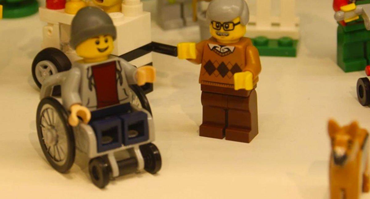Lego più vicino a rappresentare la diversità sociale