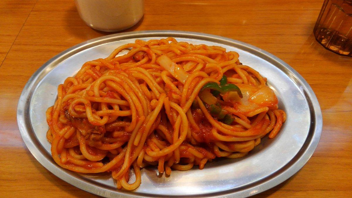 いいな〜♡ RT @CQ2D: 二日間東京にいてウルフルズ武道館にも行きましたがあっという間にまたもや仙台なう。さくら野地下のマルハチ、ナポリタン最強!これをおかずに白飯キメたかったけど量があるのでさすがに無理どした。