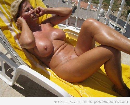 Consider, Huge nude boobs tanning moms
