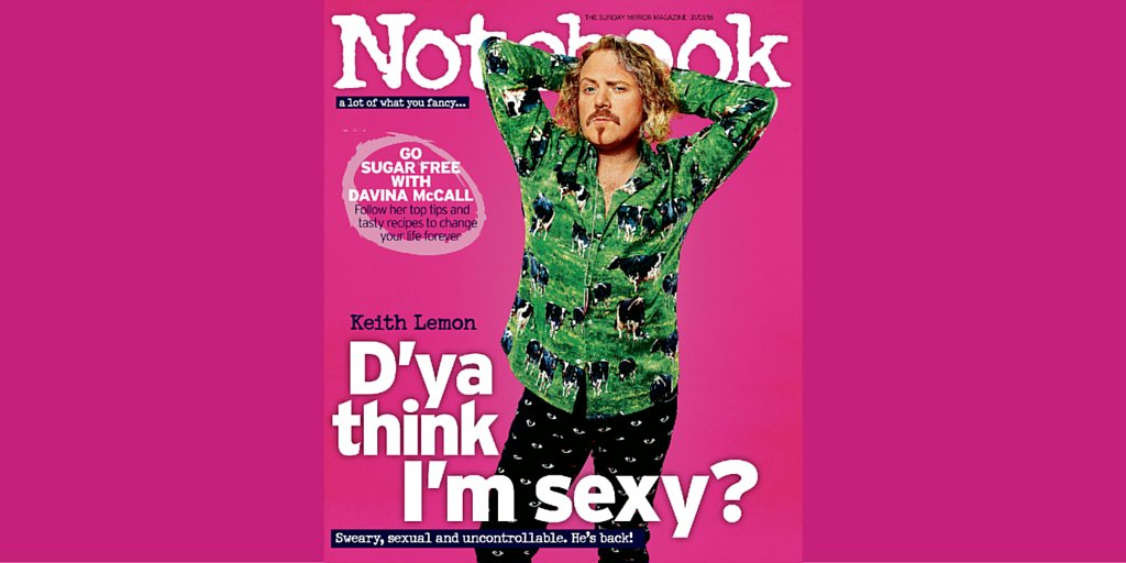 RT @notebooklive: Don't miss @JonesEmmie' hilarious interview with @lemontwittor in this week's mag FREE with The Sunday Mirror https://t.c…