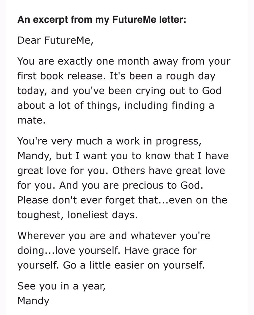 letter to my future self essay Yesterday i mentioned that i would be writing my future letter to myself today and true to my word my 2014 future letter january 1, 2013 | life.