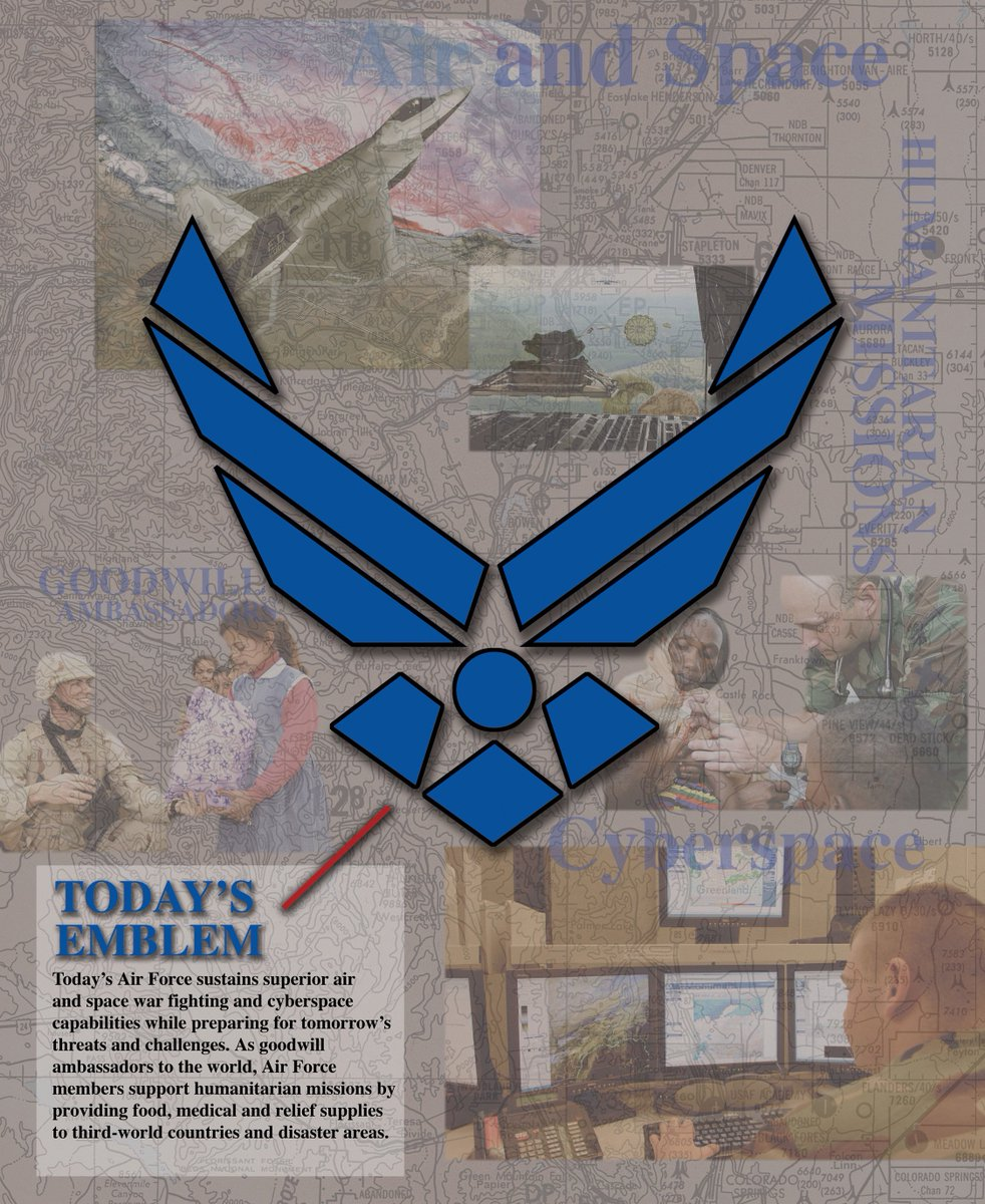 Us Air Force On Twitter You See The Airforce Symbol Everywhere