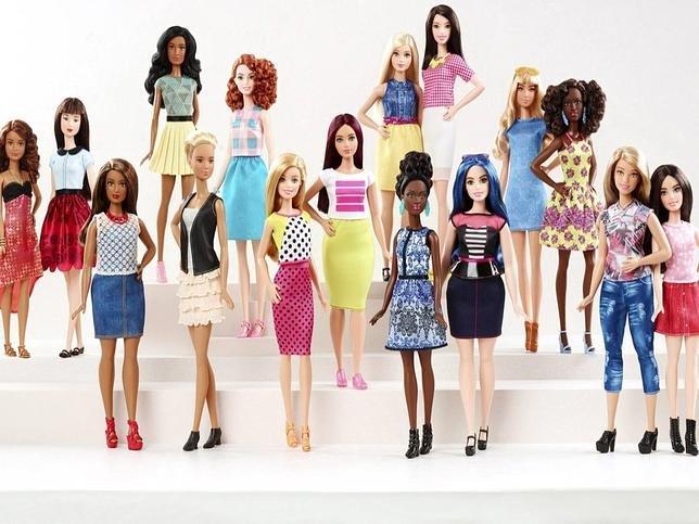 Le nuove Barbie piu' vicine alla realta'