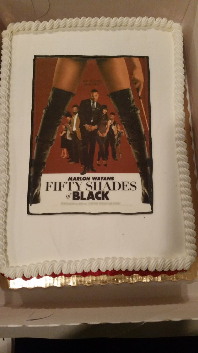 957 The Beat On Twitter Dope Cake Thanks To MarlonWayans