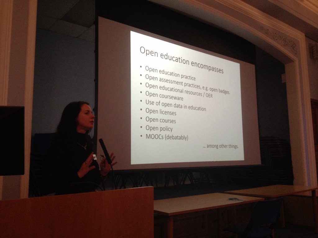 Thinking about open educational resources at #dchrn with Lorna Campbell https://t.co/WeL7Sddx51