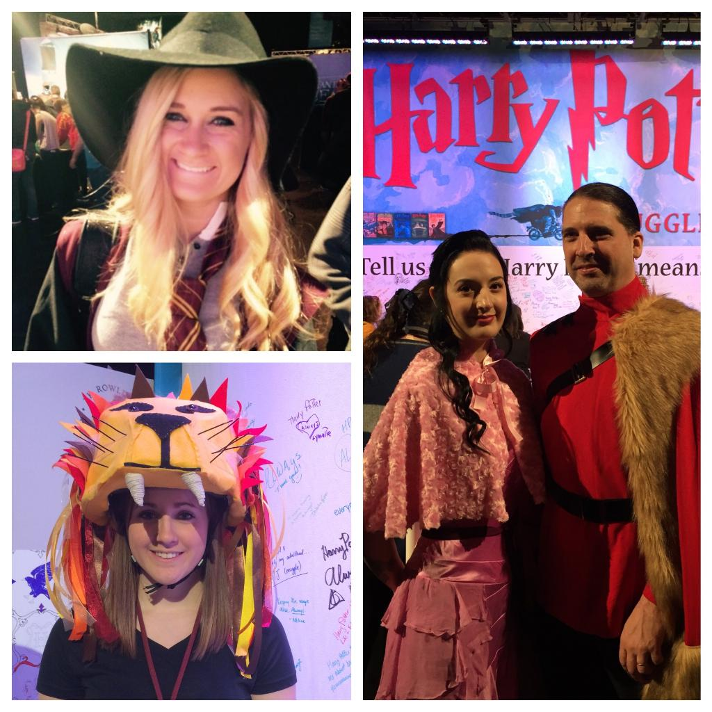 #harrypotter fans don't mess around. Check out these great costumes at the #hpcelebration! https://t.co/v1AbUiuiFp