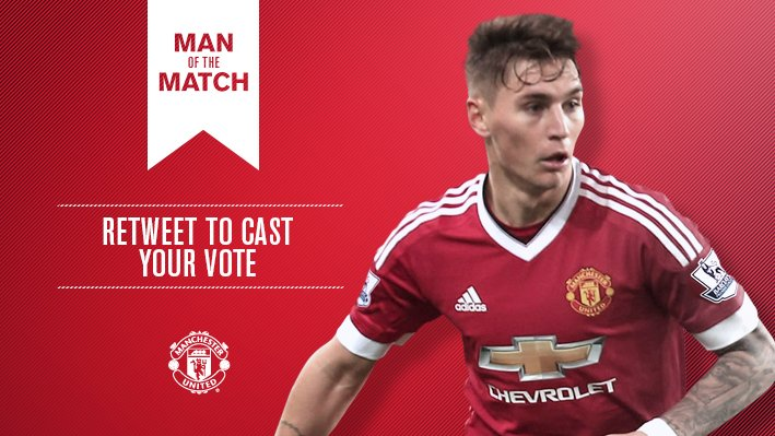 Retweet to vote Guillermo Varela #mufc's Man of the Match v Derby.