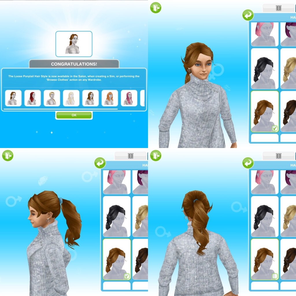 New Hairstyle Quest Sims Freeplay : Sims freeplay 2 @sims freeplay6 twitter
