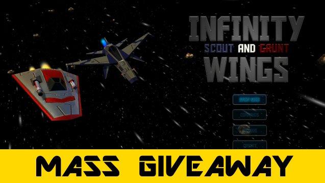 "[MASS GIVEAWAY]: 5000 Keys ""Infinity Wings"" #steam #Greenlight  #GAME WIN your FREE keys on http://otakumaker.com/"