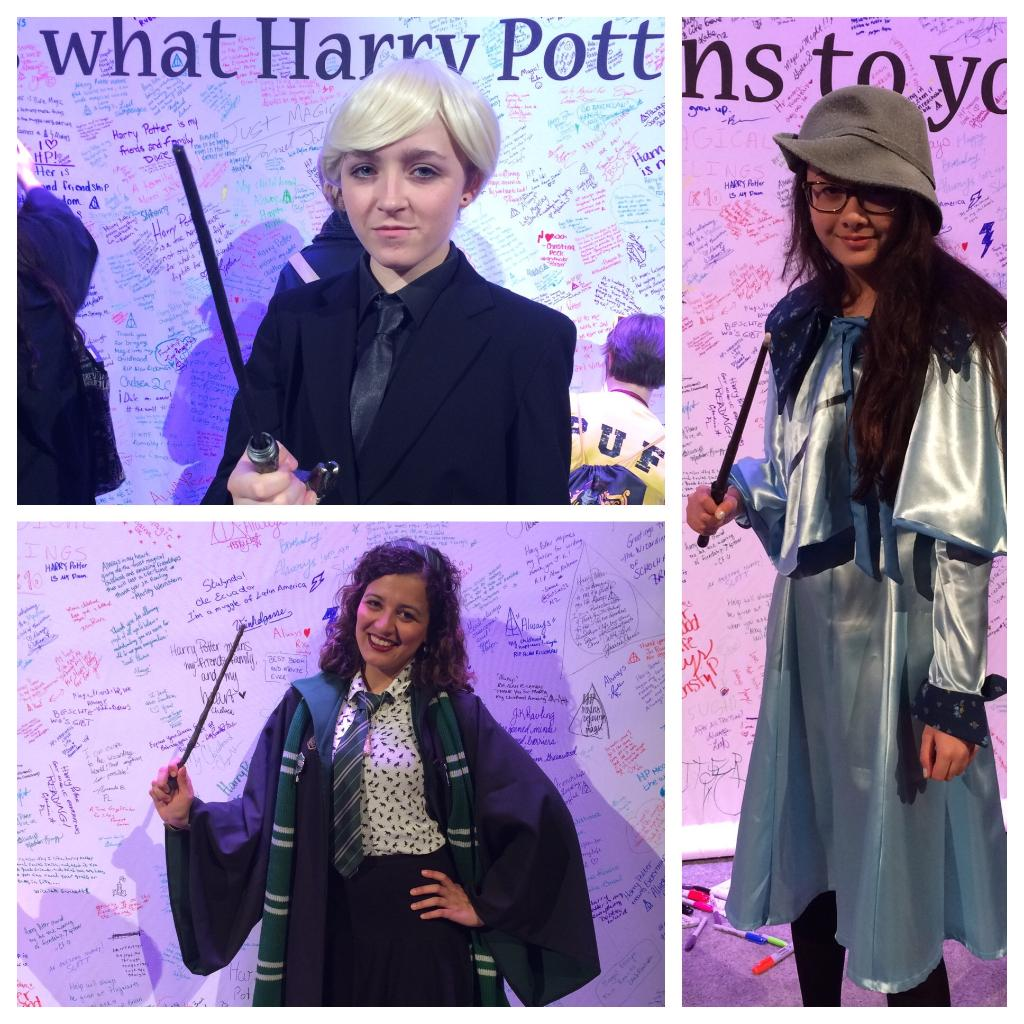 Witches and wizards everywhere you go at the #hpcelebration! (A+ cosplay game, ladies!) #harrypotter https://t.co/Bgekn0m70c