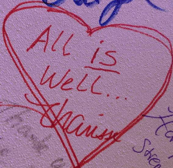 "What I wrote on ""What #HarryPotter means to me"" Muggle Wall #HPCelebration  #WizardingWorld @Scholastic https://t.co/tfD6W3WiPX"