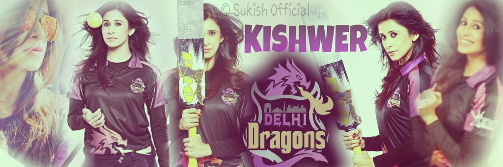 Kishwer Mershant in Delhi Dragons Team Box Cricket League 2016, BCL season 2 image-picture