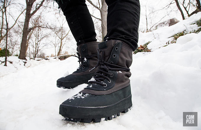 dbb66e40c2b how we survived nyc s blizzard wearing kanye west s adidas yeezy 950 boots