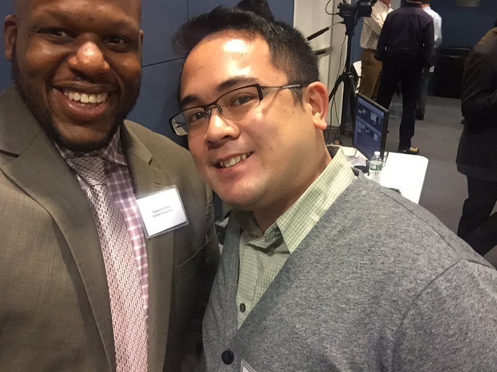 Bumped into @oscarthinks at the @DemocracyCollab #CWBCities conference! https://t.co/cvtfby5lJ1 @NextCityOrg https://t.co/2QCryeIyfa