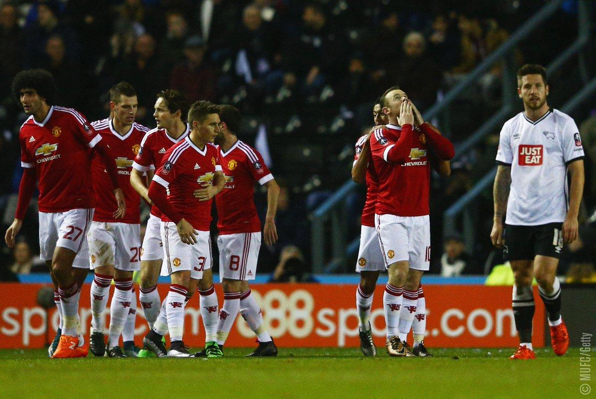 ไฮไลท์  Derby County 1 - 3 Manchester United