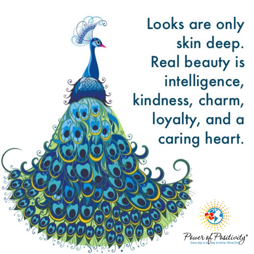 skin deep Real beauty intelligence kindness charm loyalty