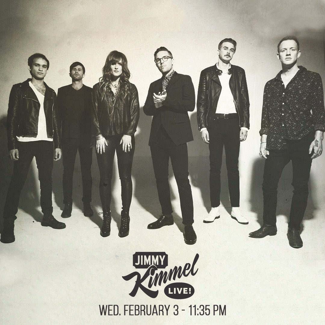 We are headed to Hollywood! Catch us on @JimmyKimmelLive next Wednesday, Feb. 3 at 11:35pm ET / 10:35pm CT! https://t.co/ID3c8n5Ue9