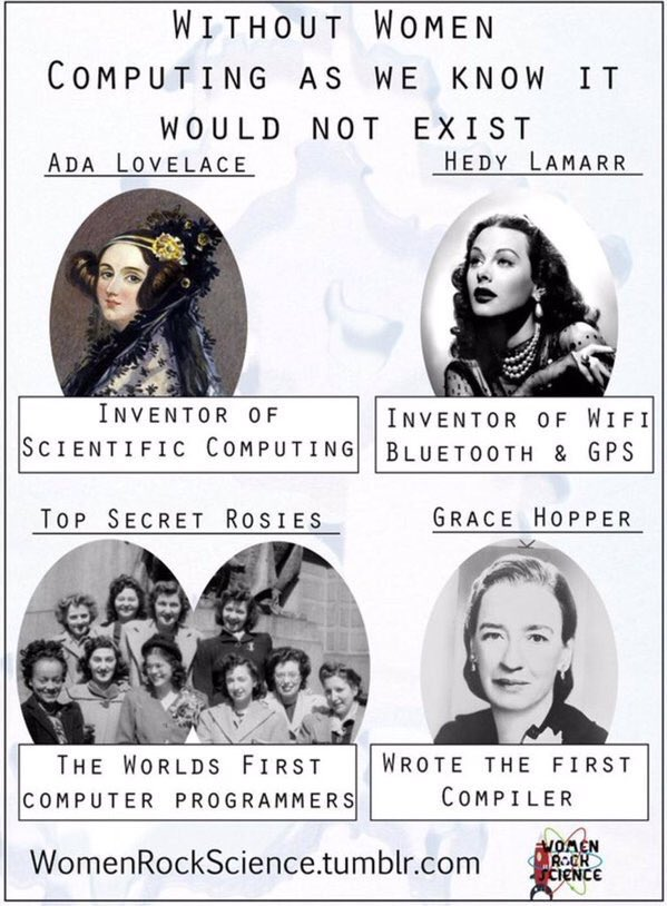 #WomenRockScience https://t.co/WCJZ6ANpTH