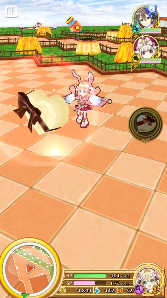 【白猫】スィー島の新ギミック「スローイング・チョコ」が可愛い!みんなの可愛いチョコ投げ画像まとめ、チョコ憎しで池に捨てるマイちゃんワロタwwww