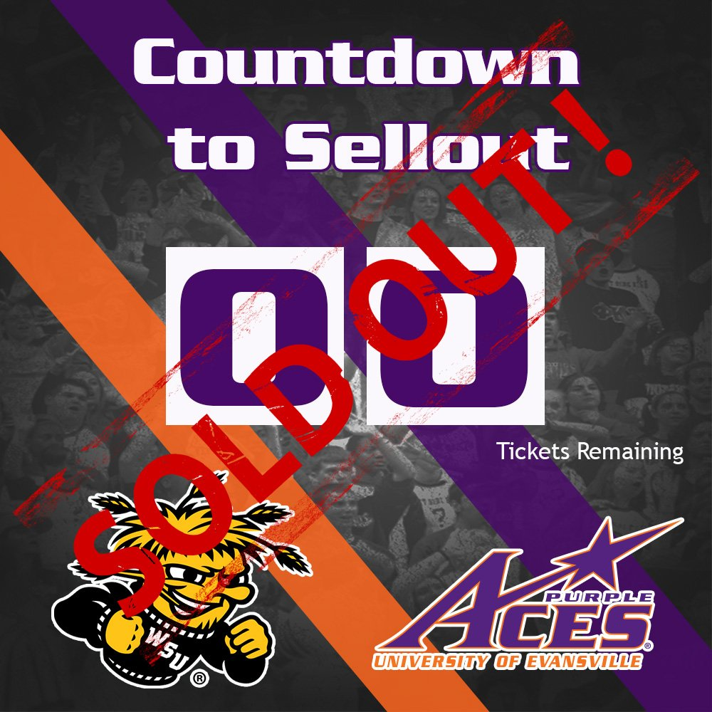 Thank you, Aces fans! Sunday's game against Wichita State is officially sold out! #AcesAces https://t.co/GbUywuRFlB